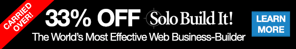 33% OFF The World's Most Effective Web Business-Builder - Solo Build It!